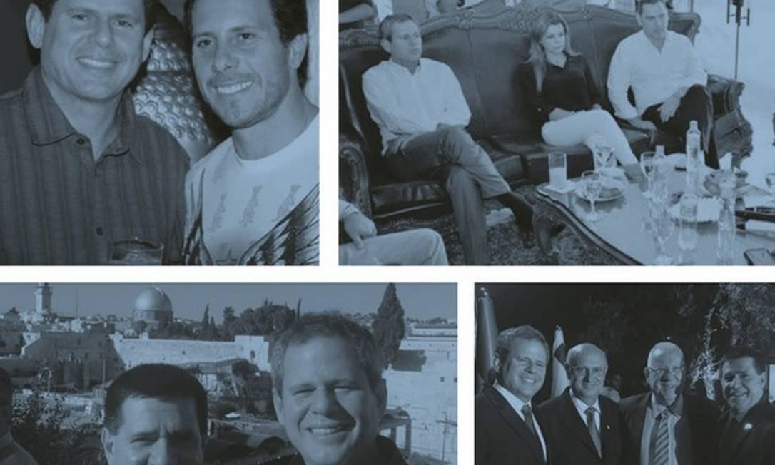 Dario Messer mantinha uma rede extensa de contatos: celebridades, políticos e jogadores de futebol. Foto: Reproduções