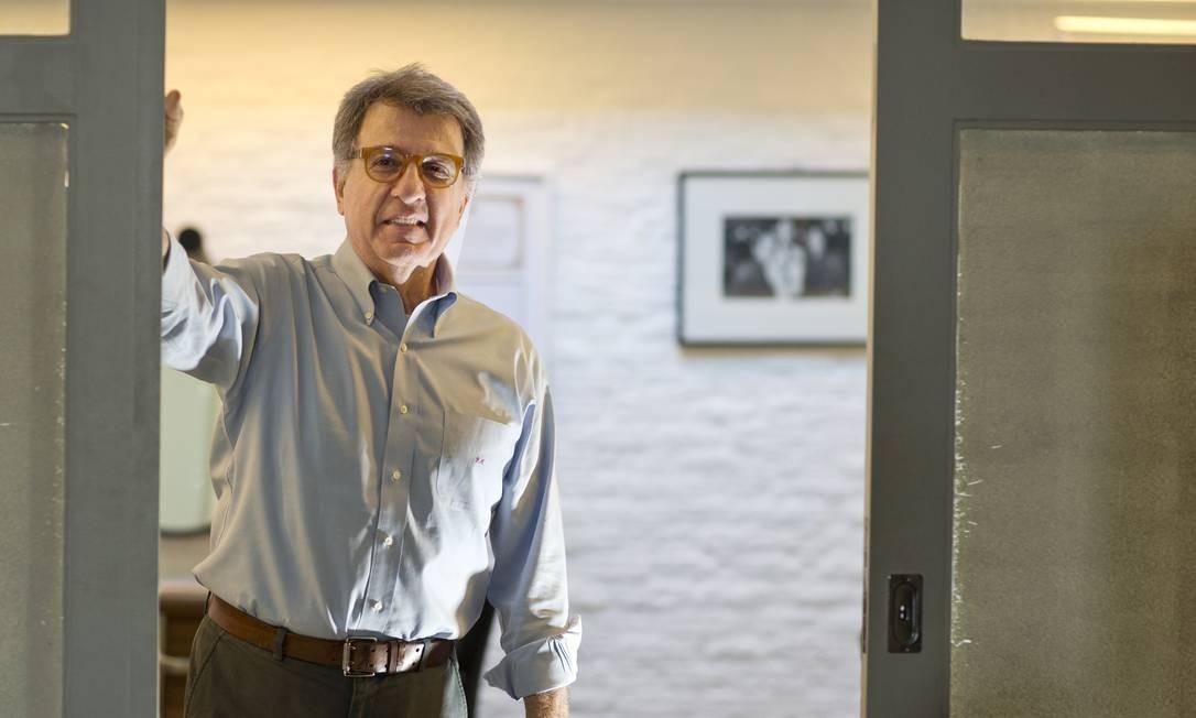 O empresario Paulo Marinho assumiu o PSDB do Rio de Janeiro e se afastou da família Bolsonaro. Foto: Antonio Scorza / Agência O Globo