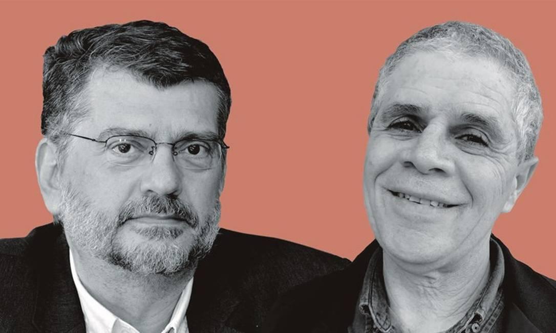 Ocimar Alavarse (à esquerda) e João Vianney. Foto: Montagem sobre foto de divulgação; e Jade Philippe / Blog do Enem