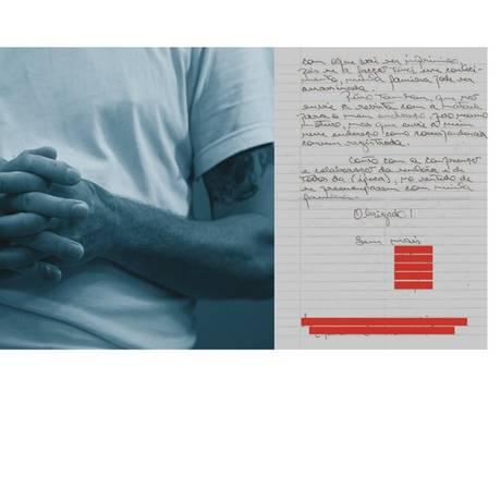  Foto: Edilson Dantas / Agência O Globo; Carta: Reprodução