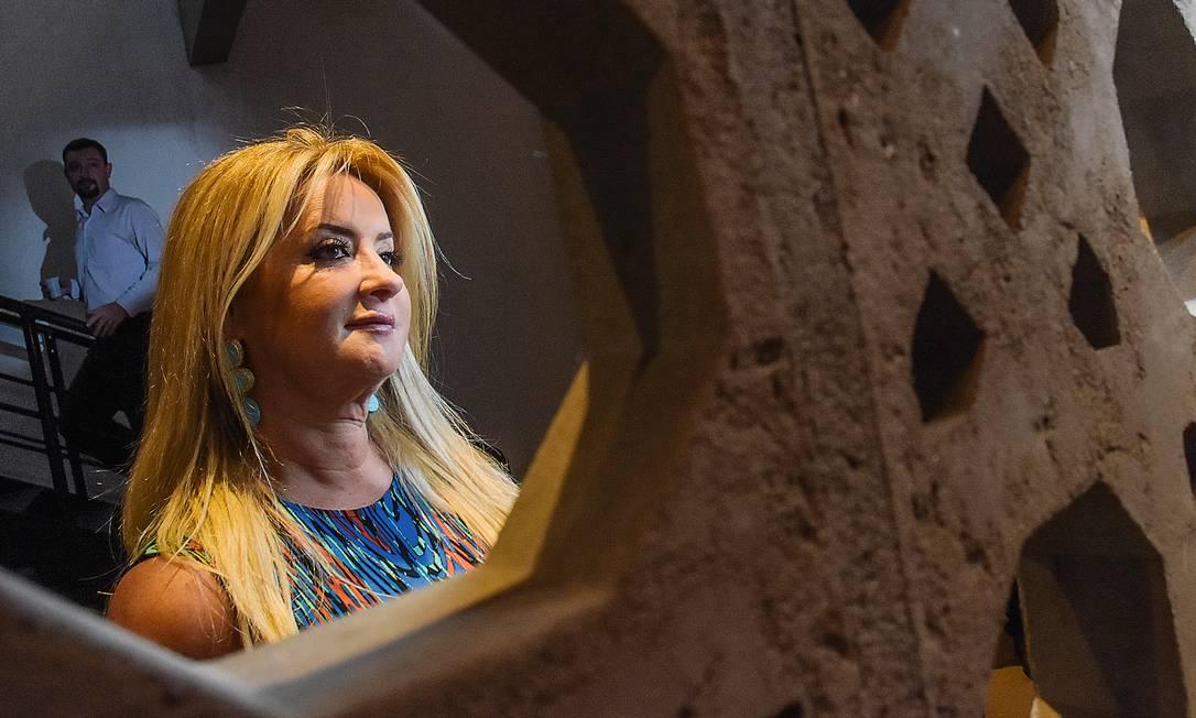 A empresária Maria Cristina Boner Leo fez fortuna vendendo produtos da Microsoft junto com ex-marido, que virou alvo de batalha judicial. Foto: Silvia Zamboni / Valor