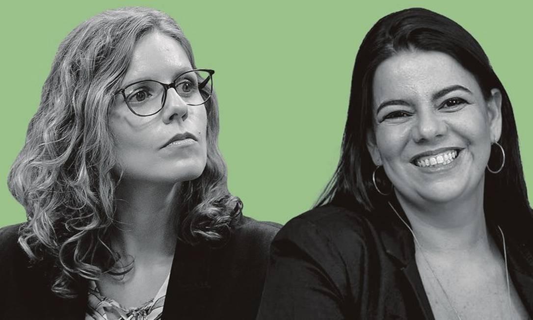 Andrea Gallassi (à esquerda) e Sabrina Presman. Foto: Montagem sobre fotos de Pedro França / Agência Senado; e arquivo pessoal
