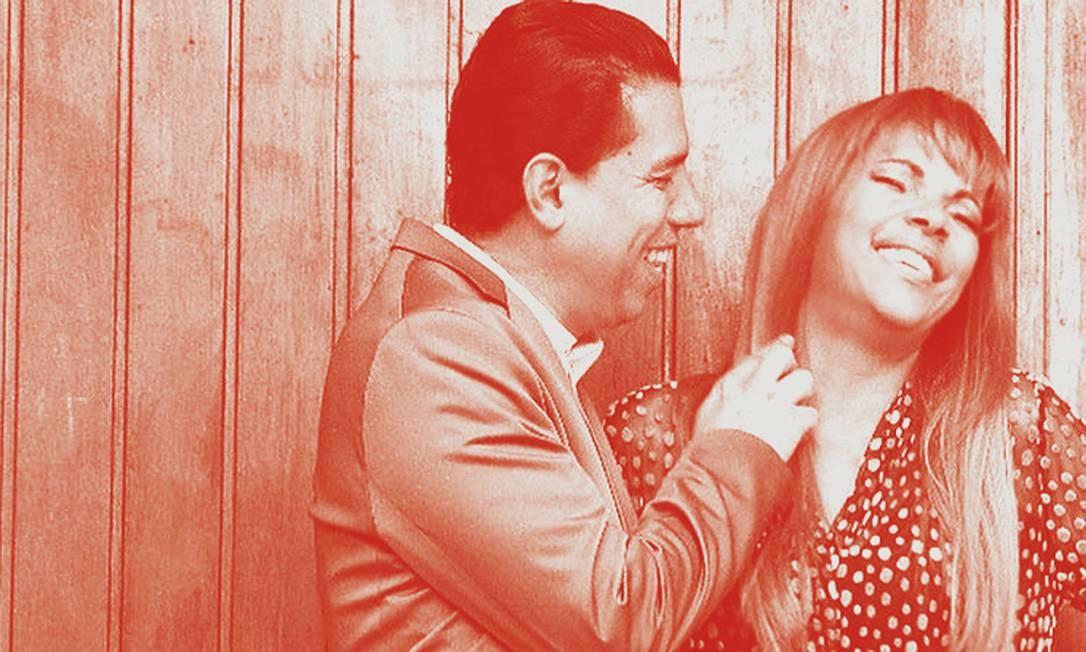A pastora e deputada federal Flordelis dos Santos de Souza e Anderson do Carmo de Souza. O relacionamento de 26 anos foi interrompido quando Anderson morreu assassinado. Foto: Reprodução