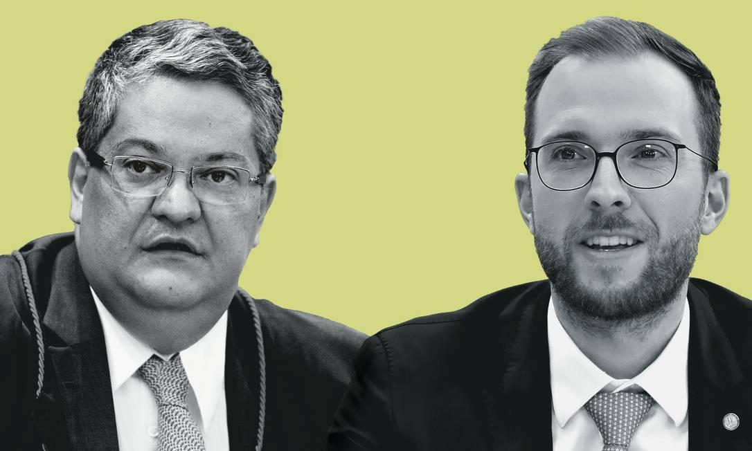 Henrique Neves (à esquerda) e Vinicius Poit. Foto: Montagem sobre fotos de Roberto Jayme / Ascom / TSE; e Luis Macedo / Câmara dos Deputados