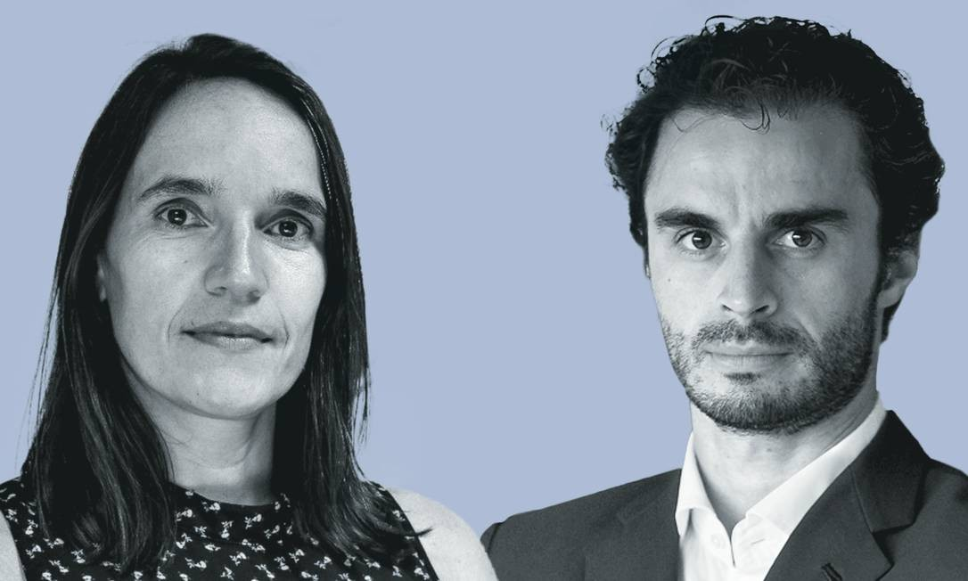 Carolina Ricardo e Leonardo Fração. Foto: Montagem sobre fotos de divulgação