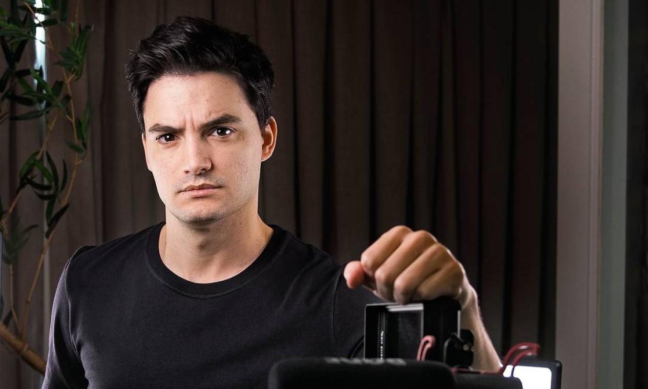 Felipe Neto, youtuber e influenciador digital Foto: Leonardo Aversa / Agência O Globo