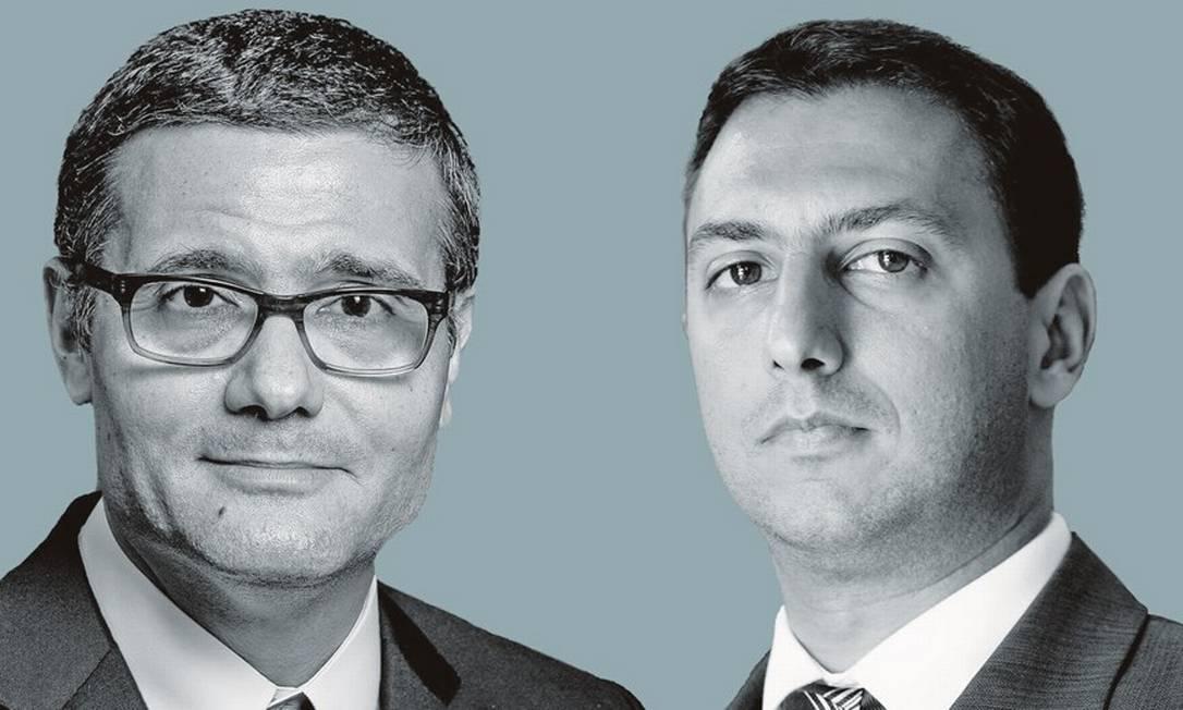 Mário Mesquita (à esquerda) e Silvio Campos Neto. Foto: Montagem sobre fotos de Eduardo Anizelli / Folhapress; e Nilton Fukuda / Estadão Conteúdo / AE
