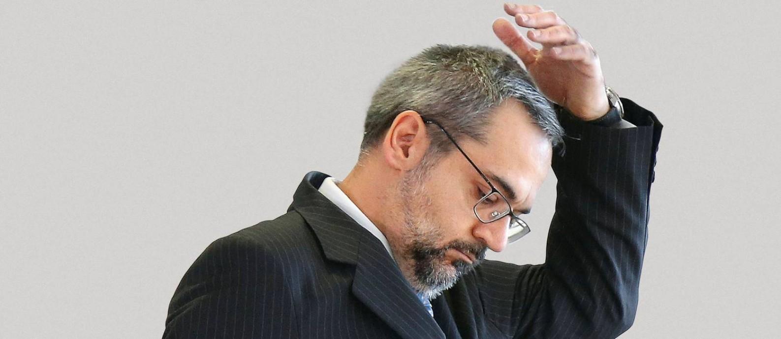 Antes de assumir o ministério, Weintraub era secretário executivo de Onyx Lorenzoni na Casa Civil da Presidência. Foto: Adriano Machado / Reuters