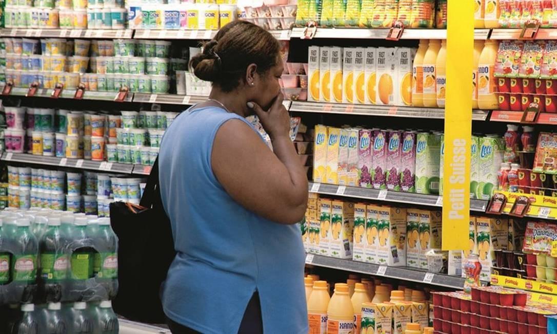 Quase 120 mil pessoas morrem por ano no Brasil devido a doenças causadas pela obesidade, segundo dados da Organização das Nações Unidas para a Alimentação e a Agricultura. Foto: Paulo Fridman / Getty Images