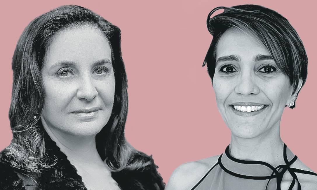 Luiza Nagib Eluf (à esquerda) e Helena Borges Martins da Silva Paro. Foto: Montagem sobre fotos de arquivo pessoal