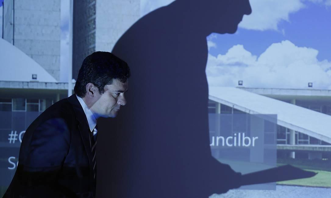 """O juiz Sergio Moro condenou Sérgio Mendes. """"Não houve extorsão, mas sim corrupção"""", sentenciou Foto: Jorge William / Agência O Globo"""