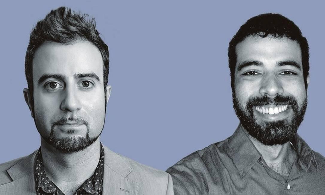 Fabro Steibel (à esquerda) e João Guilherme Bastos dos Santos. Foto: Montagem sobre fotos de divulgação