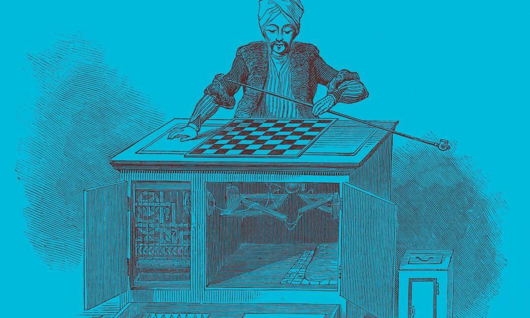 "Gravura de Wolfgang von Kempelen (1734-1804), inventor húngaro conhecido como O Turco, criou uma ""máquina"" de jogar xadrez que enganou toda a nobreza europeia no século XVIII. Foto: Universal History Archive / Universal Images Group / Getty Images"