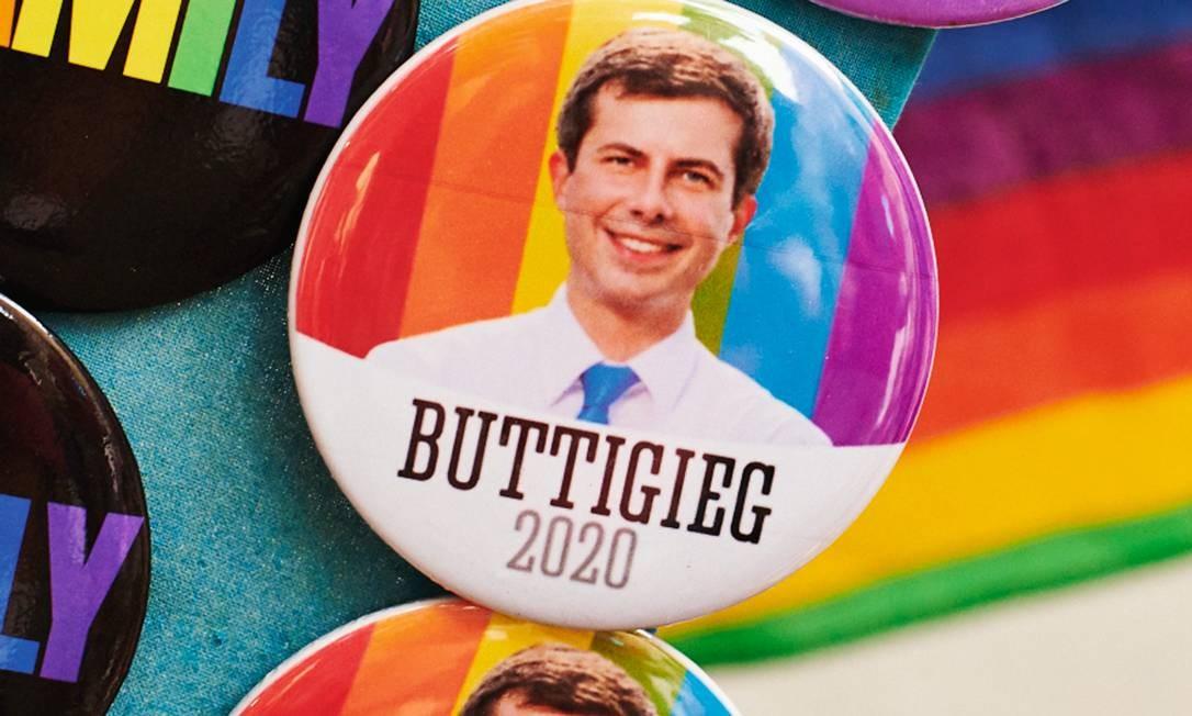 Pete Buttigieg (pronuncia-se Bu-ti-djié-dje) formou-se com honras nas universidades de Oxford e Harvard. Foto: Gabby Jones / Bloomberg via Getty Images