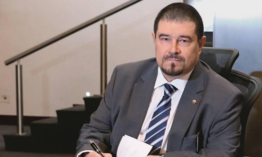 Flávio Itabaiana, em seu gabinete no Tribunal de Justiça do Rio de Janeiro Foto: Felipe Cavalcanti / TJ-RJ