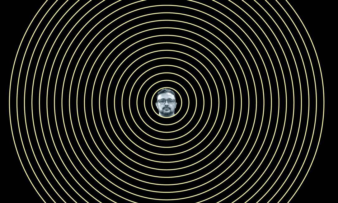 Edson Salomão (no detalhe) é assessor do deputado estadual Douglas Garcia (PSL-SP) e presidente do Movimento Conservador. Foi alvo de busca e apreensão e seu sigilo bancário foi quebrado. Foto: Arte de Mateus Valadares