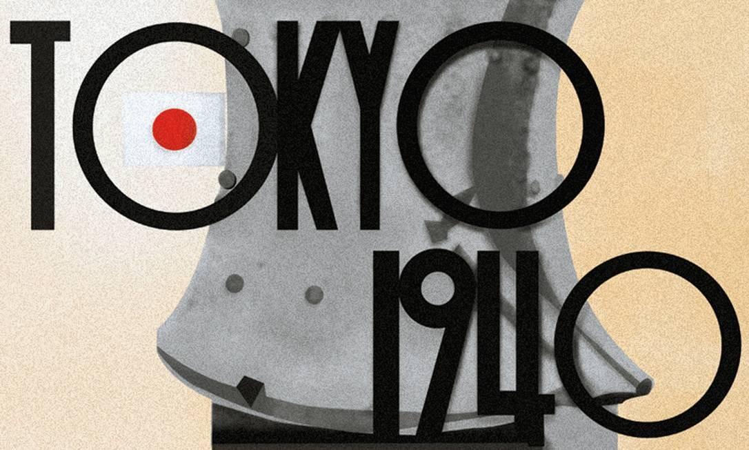 A Olimpíada de 1940 estava marcada antes para Tóquio, e depois foi transferida para Helsinque, mas jamais foi realizada. Foto: Bridgeman Images