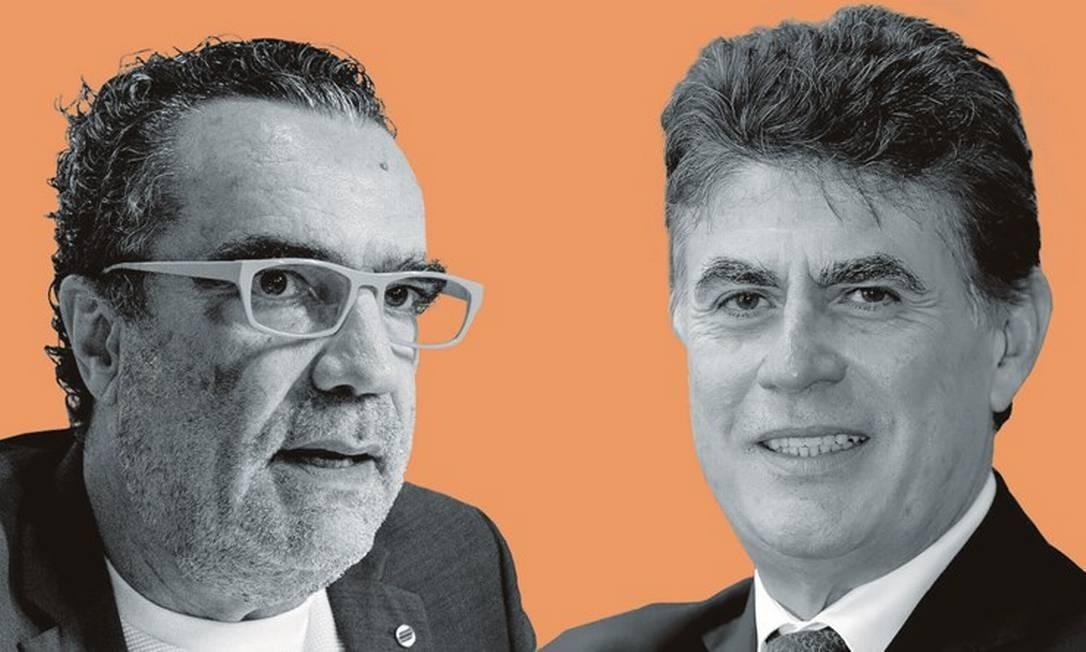  Foto: Montagem sobre fotos de Gabriel Cabral / Folhapress; e Mauro Nery / Divulgação