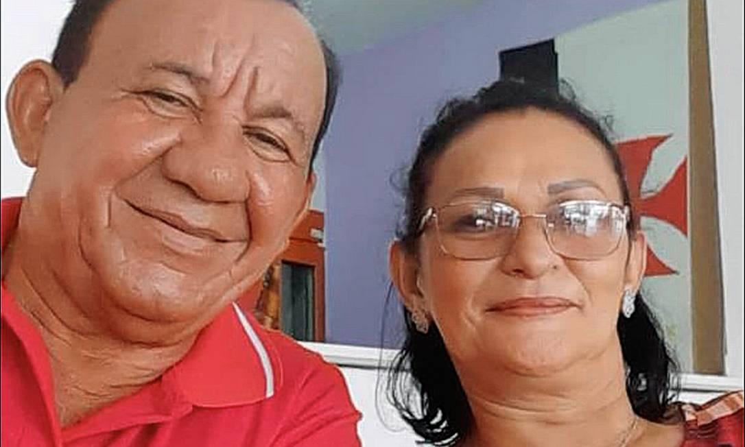 O corpo de Elce Silva Souza, mulher de Reinaldo Agapito, foi trocado por outro durante procedimento de identificação Foto: Reprodução