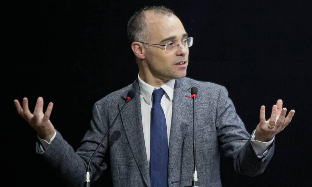 André Mendonça, ministro da Justiça Foto: Jorge William / Agência O Globo