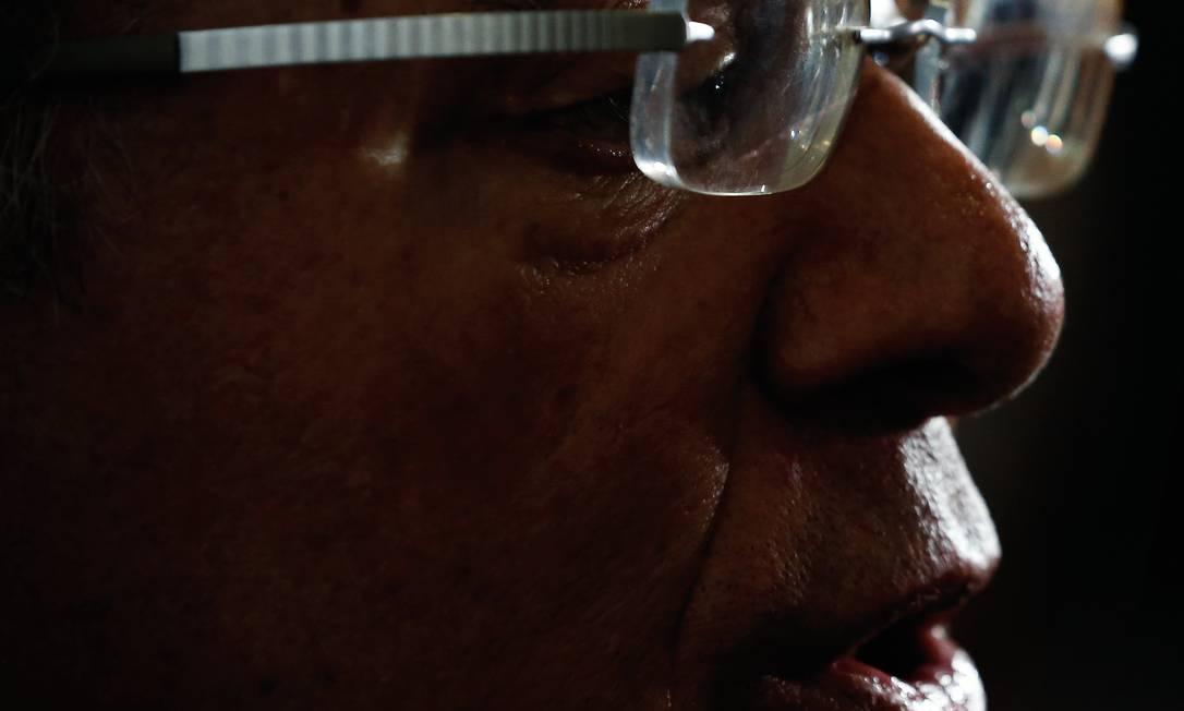 Paulo Guedes aproximou-se de Bolsonaro ainda na campanha. O candidato deu a ele a chance de implementar um projeto de três décadas, e Guedes retribuiu com a confiança do mercado. Foto: Pablo Jacob / Agência O Globo