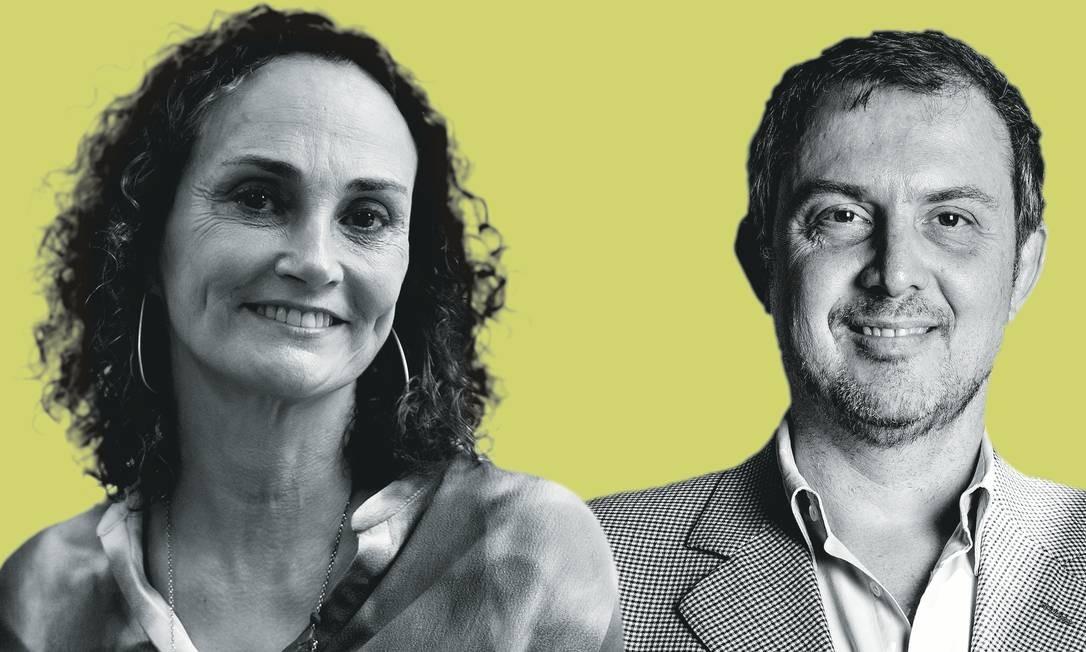  Foto: Montagem sobre fotos de Fernando Lemos / Agência o Globo; e Alberto Rocha / Folhapress