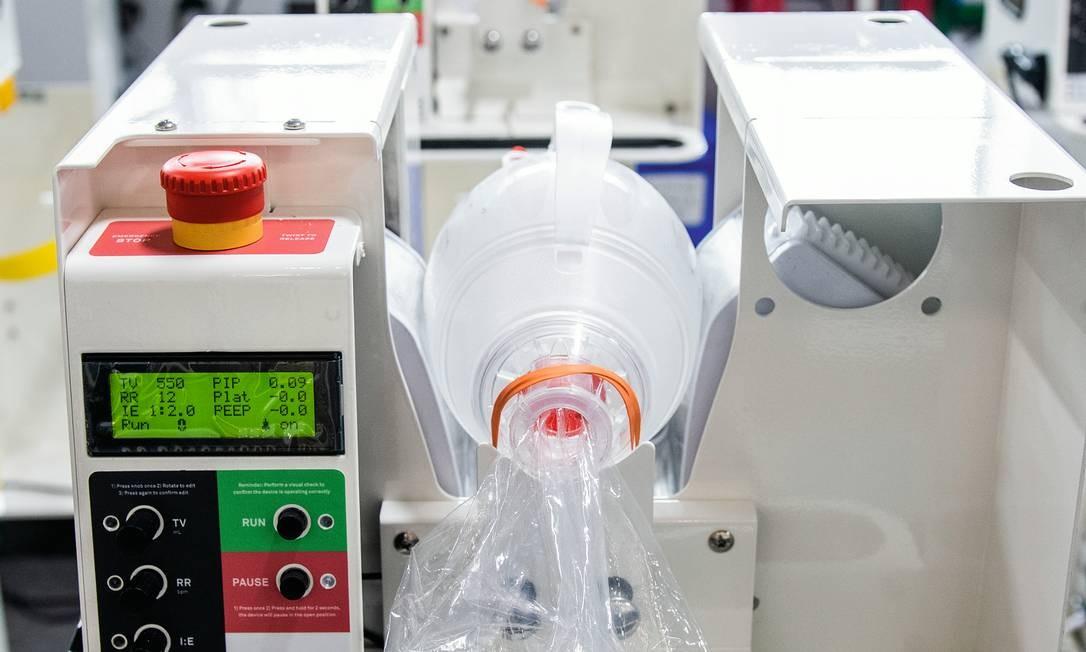As compras de ventiladores usados para auxiliar na respiração de doentes infectados pela Covid-19 têm sido os principais alvos de suspeita dos órgãos de fiscalização. Foto: Mark Kauzlarich / Bloomberg / Getty Images