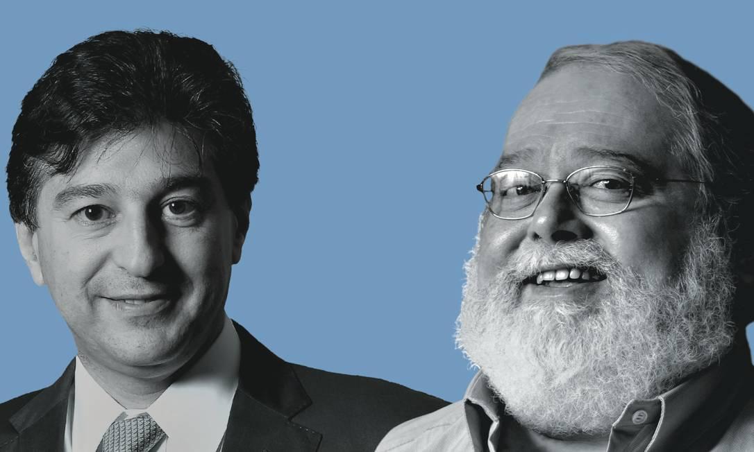  Foto: Montagem sobre fotos de Ricardo Benichio / Wikimedia Commons; e Claudio Belli / Agência o Globo