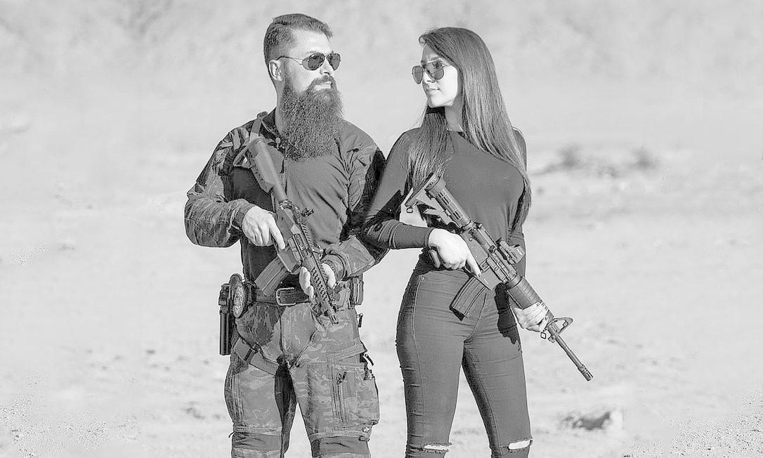 Paulo Bilynskyj e Priscila Delgado se conheceram pelo Instagram em dezembro e se encontraram em fevereiro. Em 48 horas, já tinham decidido viver juntos. Foto: Reprodução