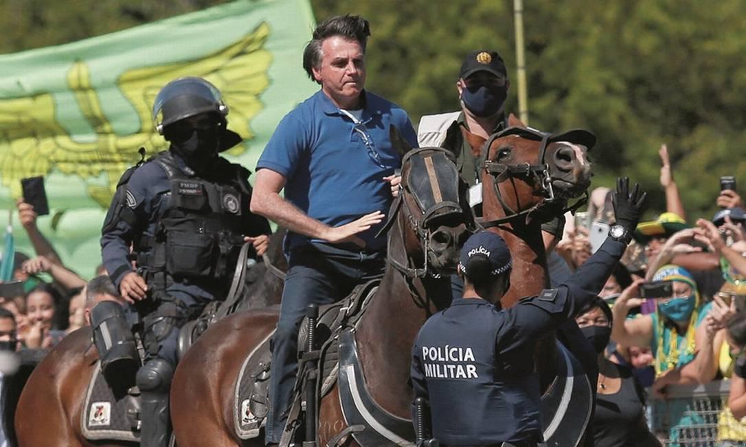 Bolsonaro, aos 18 meses de governo, tem em seu modo truculento uma das principais razões para o desgaste junto a seus eleitores de 2018. Foto: Ueslei Marcelino / Reuters