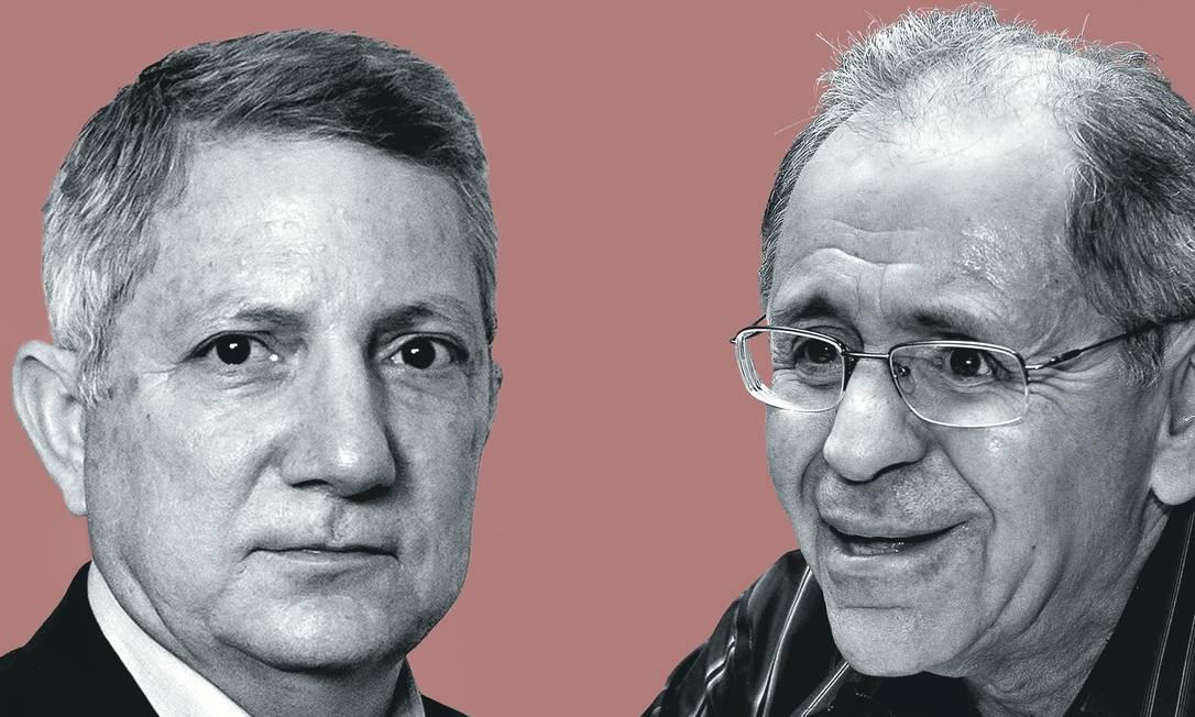  Foto: Montagem sobre foto de Leo Martins / Agência O Globo; e Alan Marques / Folhapress