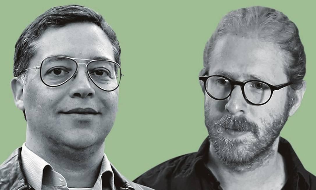 Eduardo Saron (à esquerda) e Daniel Jablonski. Foto: Montagem sobre fotos de Edilson Dantas / Agência O Globo; e Divulgação