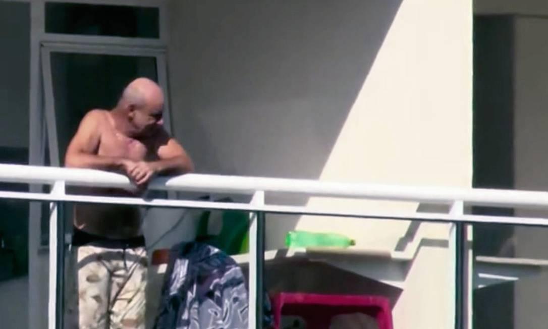 Fabrício Queiroz, personagem central do esquema da rachadinha no gabinete de Flávio Bolsonaro Foto: Reprodução