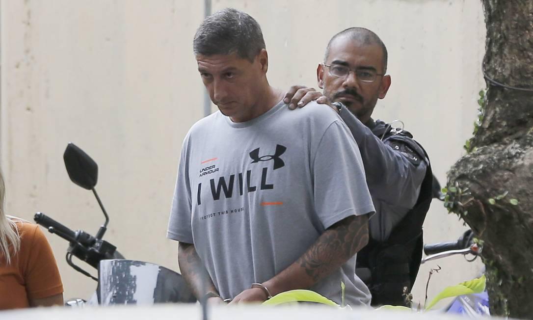 Ronnie Lessa, acusado da morte de Marielle Franco Foto: Pablo Jacob / Agência O Globo