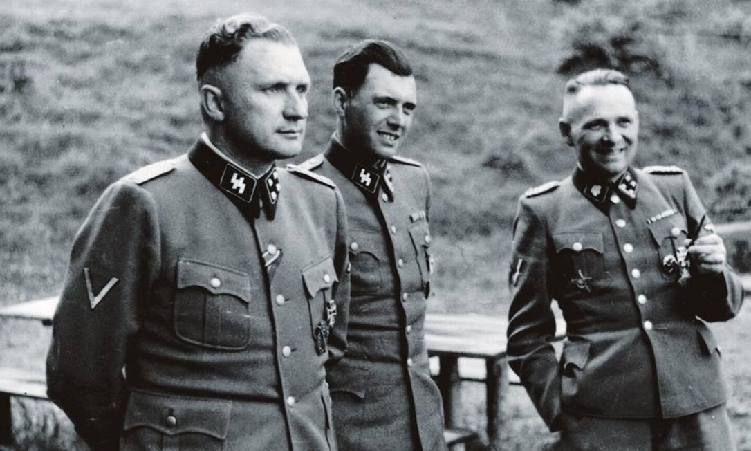 Josef Mengele ingressou no partido nazista em 1937 e ganhou notoriedade entre os principais nomes do regime em razão de seus experimentos genéticos. Foto: United States Holocaust Memorial Museum, courtesy of Anonymous Donor