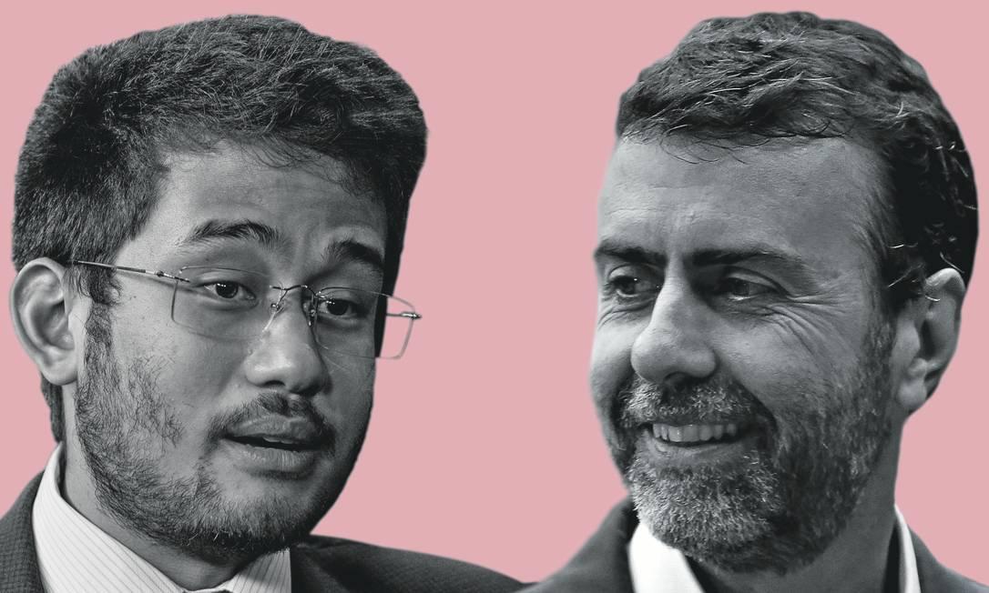  Foto: Montagem sobre fotos de Kleyton Amorim / UOL / Folhapress; e Pablo Jacob / Agência O Globo