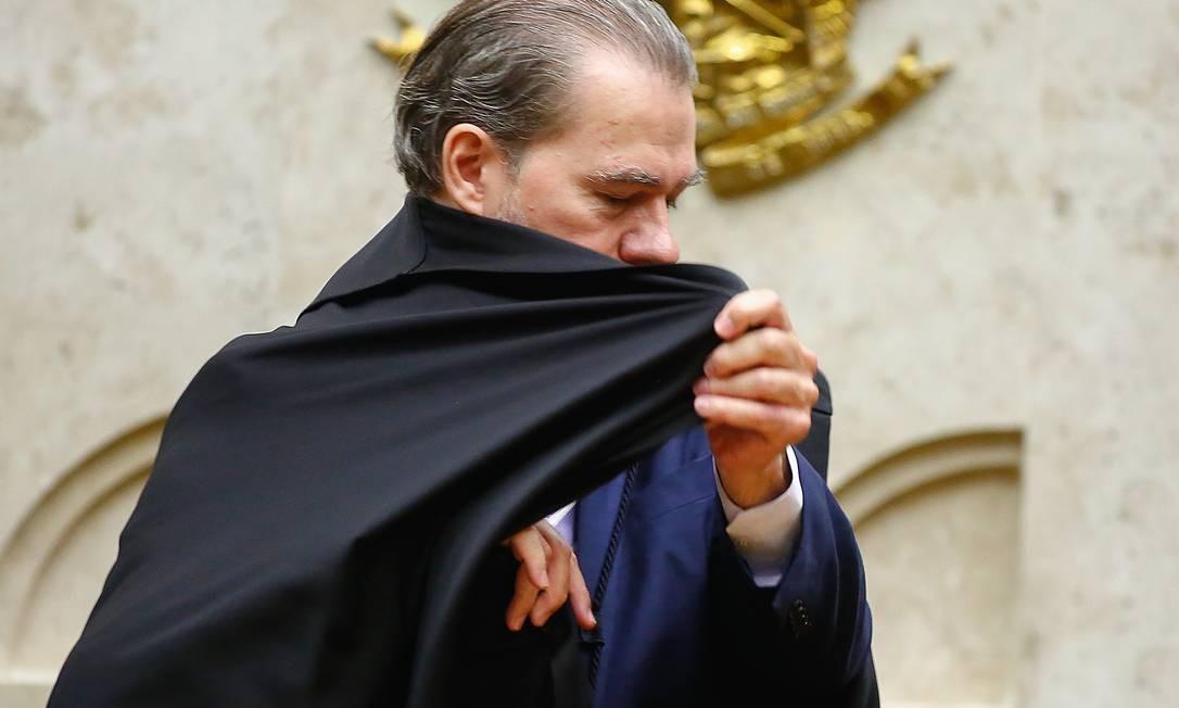 Presidente do STF, Dias Toffoli. Foto: Sergio Lima / AFP