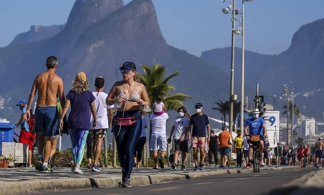 O Rio de Janeiro foi a cidade brasileira com a maior média diária de mortes de todo o país, mais de 130, mas esse número caiu para 46. Foto: Buda Mendes / Getty Images