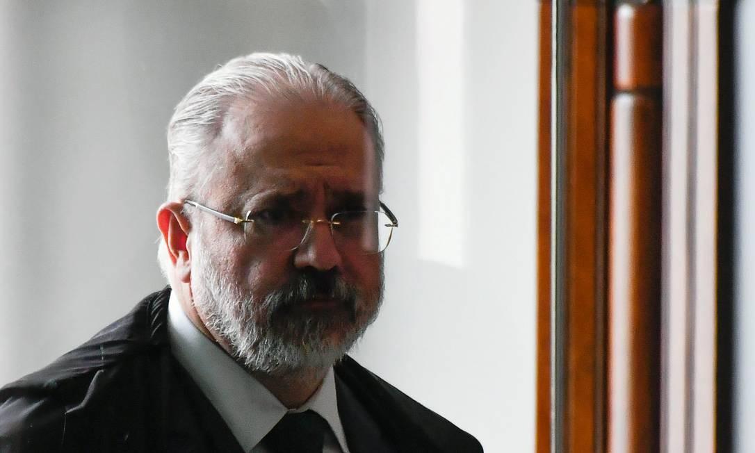 Apesar de surpreso, o procurador-geral da República, Augusto Aras, acolheu sem sobressaltos a decisão de Edson Fachin que cancelava o compartilhamento de dados da Lava Jato. Foto: Mateus Bonomi / AGIF via AFP