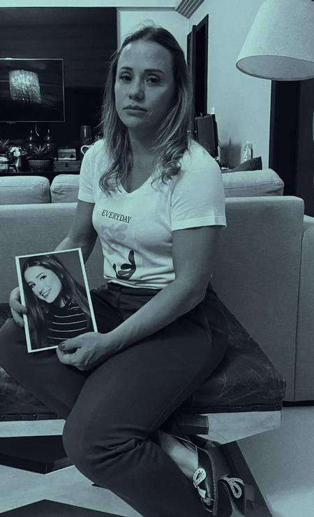 """Patrícia disse que houve dolo no assassinato da filha. """"Quero saber por que isso aconteceu"""", questionou. Foto: Reprodução de Ullisses Campbell"""