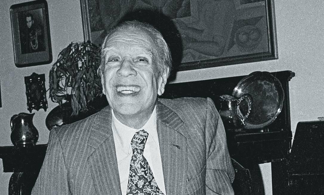 Nas memórias de Jay Parini, o escritor Jorge Luis Borges aparece apaixonado. Foto: Bettmann Archive