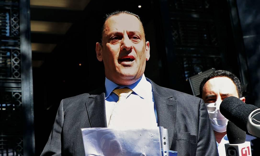 Frederick Wassef, ex-advogado de Jair Bolsonaro Foto: Fabio Motta / AFP