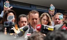 Celso Russomanno selou sua candidatura à prefeitura de São Paulo pelo partido com o aval de Jair Bolsonaro. Foto: Claudio Belli / Agência O Globo