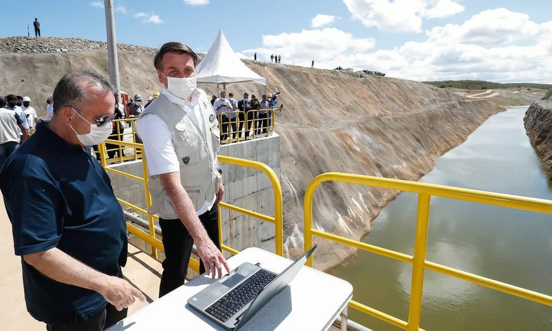 Marinho monta agenda de obras para agradar a Jair Bolsonaro. Foto: Alan Santos / PR