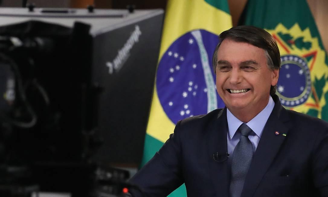 Em seu discurso na 75ª Assembleia Geral da ONU, Bolsonaro criticou a defesa do meio ambiente, elogiou Trump e fez crítica velada à China. Foto: Marcos Corrêa / PR