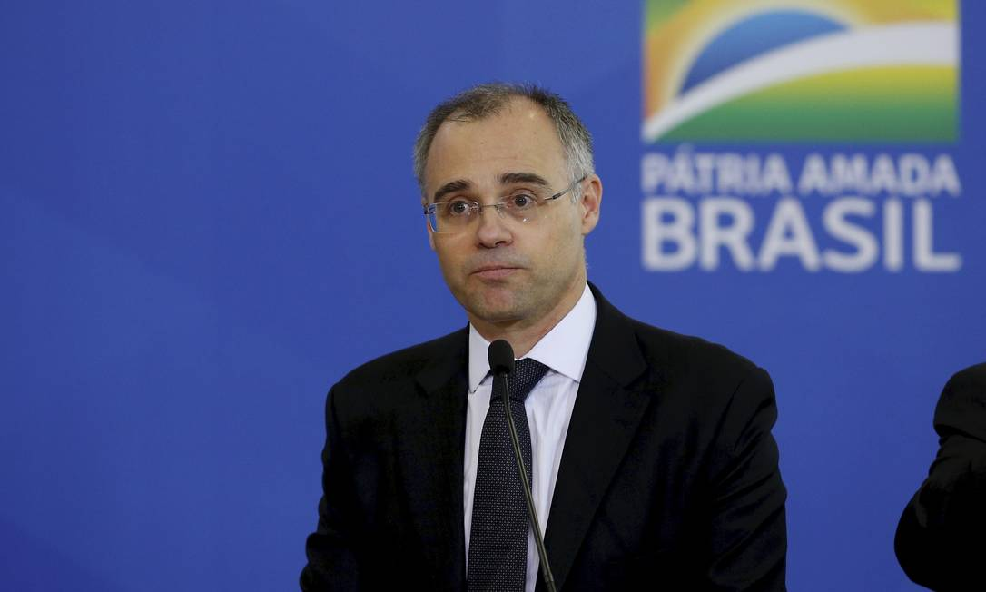 O ministro da Justiça, André Mendonça. Foto: Pablo Jacob / Agência O Globo