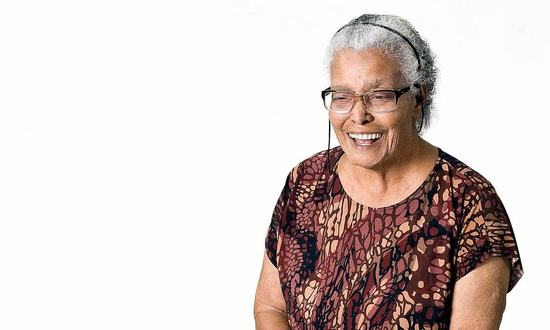 Ruth Guimarães, morta em 2014, foi a segunda mulher negra a publicar um romance no Brasil e chegou a ganhar elogios do crítico Antonio Candido. Foto: Eduardo Knapp / Folhapress