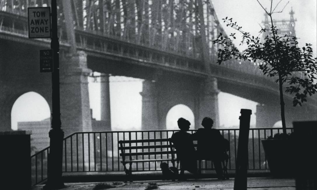 """Cena do filme """"Manhattan"""", de Woody Allen Foto: Divulgação"""