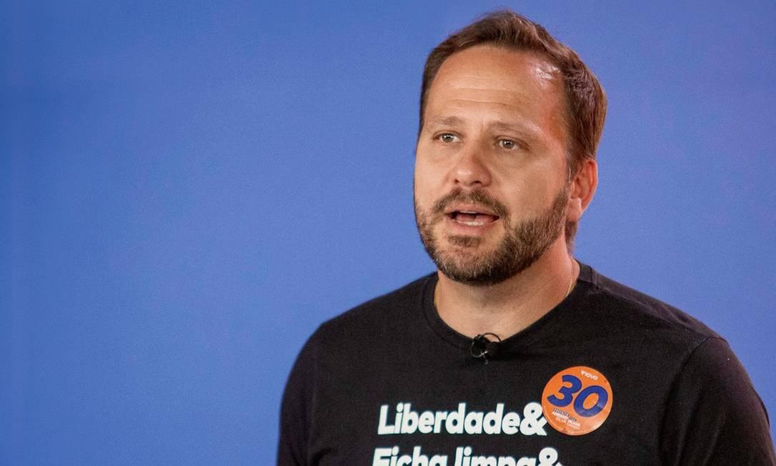 Adriano Bornschein Silva foi o único candidato a prefeito do Novo eleito neste ano. Foto: Divulgação
