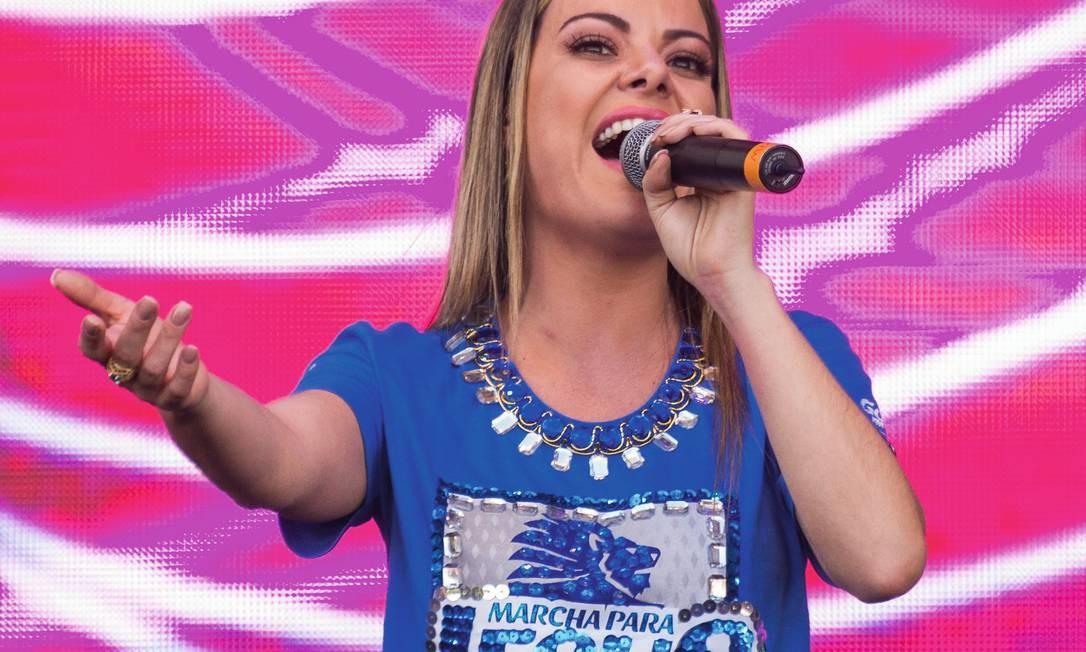 Ana Paula Valadão é uma das artistas gospel mais tocadas no Spotify. Foto: Bruno Fernandes / Fotoarena
